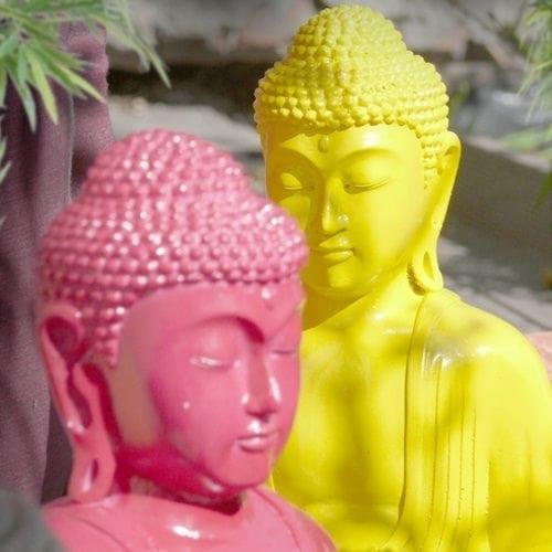 Des bouddhas pop et design…