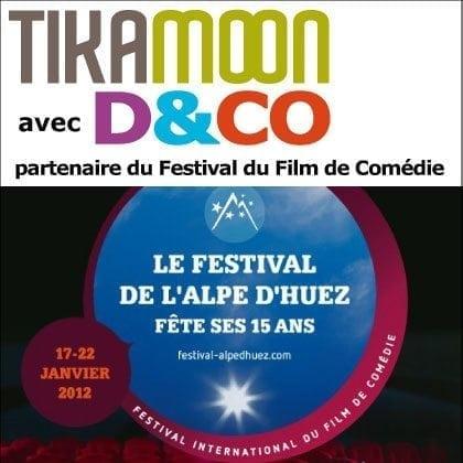 Tikamoon partenaire du Festival du Film de Comédie de l'Alpe d'Huez