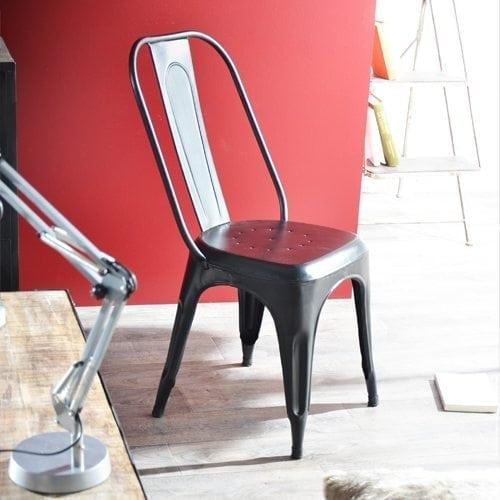 M6 d co une semaine pour tout changer - Chaise en metal industriel ...