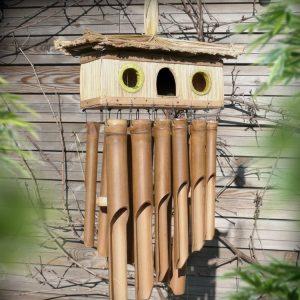 Maison oiseau 3 trous