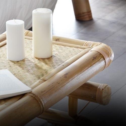 Une table basse Design en Bambou