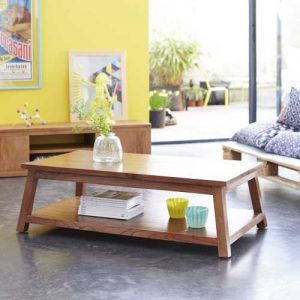 Table basse en Pin massif - Fidji