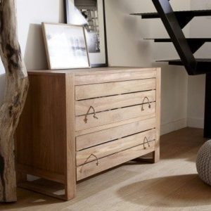 Commode chambre bois exotique pas cher tikamoon blog - Commode chambre a coucher ...