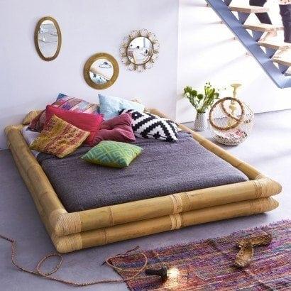 Besoin d'exotisme? Notre lit futon en bambou est fait pour vous!