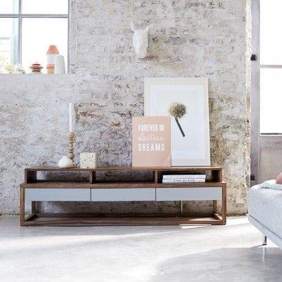La collection de meuble en palissandre Niels pour une note de couleur et de modernité