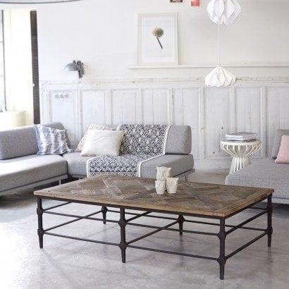 Des meubles en double matière : la nouvelle tendance !