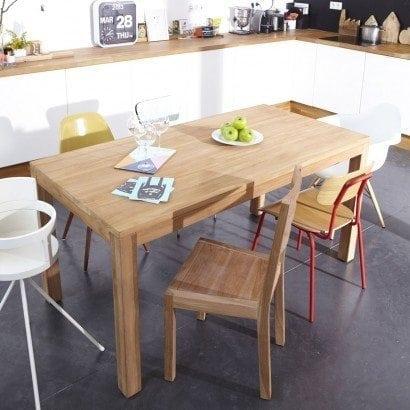 Envie d'une table originale? Choisissez en une en bois naturel