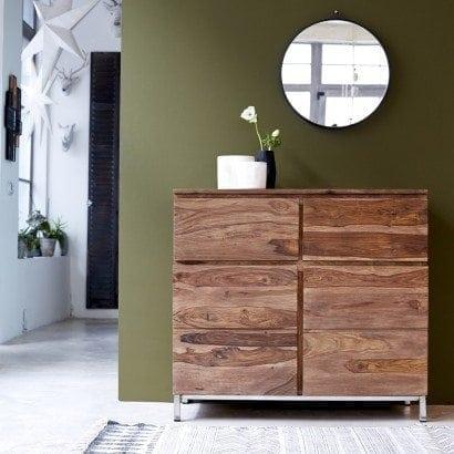 Un bahut en palissandre de style scandinave vintage pour votre séjour