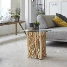 Notre Collection River: Des meubles en bois flotté pour une pièce unique