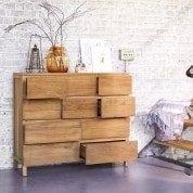 Découvrez nos commodes de salon en bois